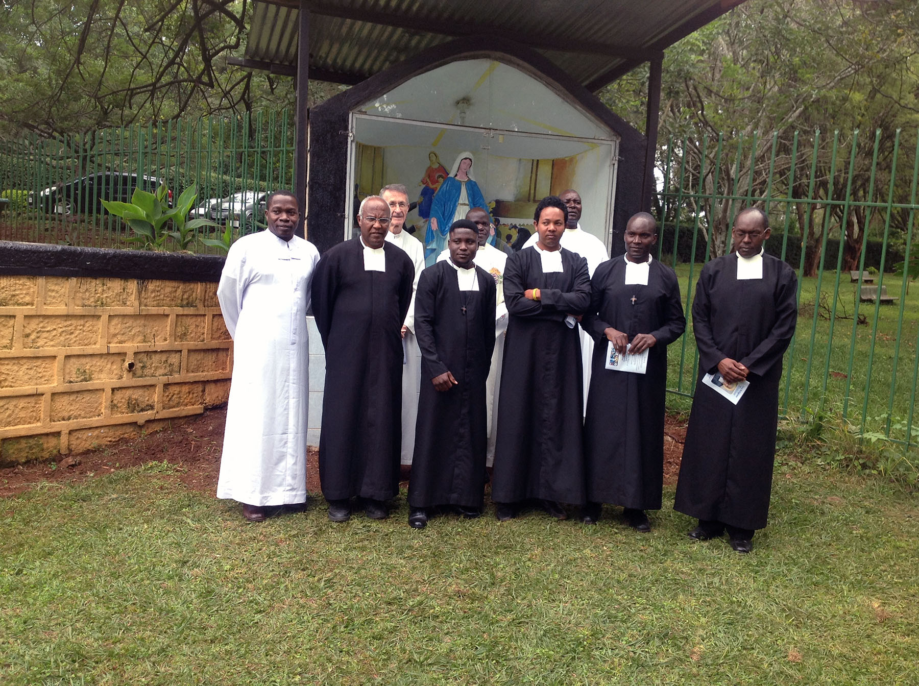 Newly Professed with Brothers leaders